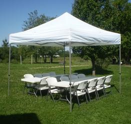 10x10 tent seats 16-20